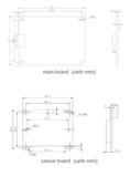 "VEN-134-90U3M-D, Dual Head, 1280x1024, 90fps, 1/2"", Global shutter, CMOS, Mono_"