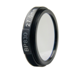 LFT-BP830-M27, Narrow bandpass filter,  830nM Peak wavelenght, useful range between 802-868nM_
