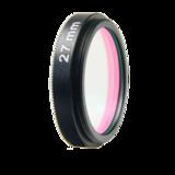 LFT-UVIRCUT-M27, UV + IR-Cut filter, useful range between 398-698nM_