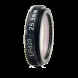 LFT-LP420-M27, Longpass filter, passes all light above 406nM_
