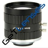 """LCM-5MP-08MM-F1.4-1.5-ND1, LENS C-mount 5MP 8MM F1.4 2/3"""" NON DISTORTION_"""