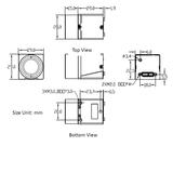"MER-133-54U3M-L, AR0135, 1280x960, 54fps, 1/3"", Global shutter, CMOS, Mono_"