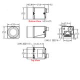 "MER-500-14GC, MT9P031, 2592x1944, 14fps, 1/2.5"", Rolling shutter, CMOS, Color_"