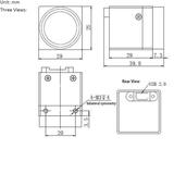 """MER-040-60UC-L, MT9V032, 752x480, 60fps, 1/3"""" Global shutter CMOS, Color_"""