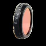 LFT-BP630-M35.5, Narrow bandpass filter,  630nM Peak wavelenght, useful range between 610-648nM_