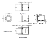 MER-133-54U3M-L-SET, 1.3MP, Global shutter, Mono incl. 16mm lens_
