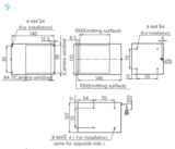 Machine vision coaxial light Dimensions
