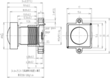 Mechanical Drawing LM12-16MP-03MM-F2.5-2.3-HD1