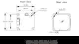 """VEN-161-61U3C, IMX296, 1440x1080, 61fps, 1/2.9"""", Global shutter, Boardlevel, Color_"""