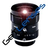 "LENS C-mount 5MP 6MM F1.4 for max sensorsize 2/3"" NON DISTORTION"