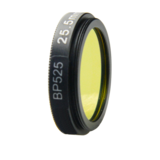 BP525 optical lens filter for machine vision camera
