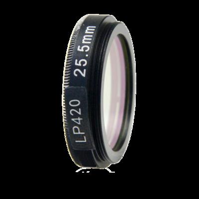 LFT-LP420-M30.5, Longpass filter, passes all light above 406nM