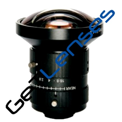 LENS C-10MP-6MM-F1.8-1.1INCH LOW DISTORTION