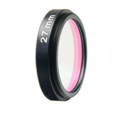 LFT-UVIRCUT-M25.5, UV + IR-Cut filter, useful range between 398-698nM