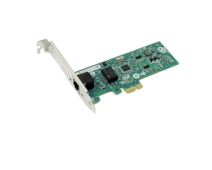 Adapter PCIe1x - 1x GigE - single bus
