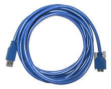 3-meter USB3.0 cable, Industrial grade, Screw lock