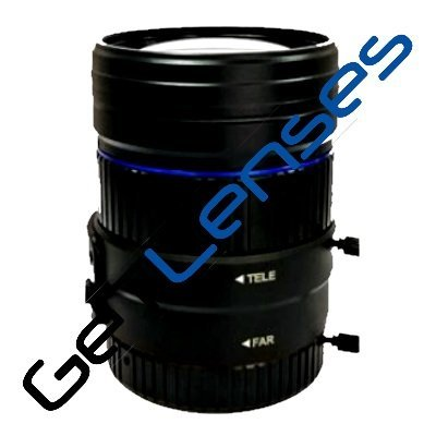 LCM-12MP-1140MM-F1.6-1-LD1, LENS Varifocal C-mount 12MP 11MM-40MM F1.6 1