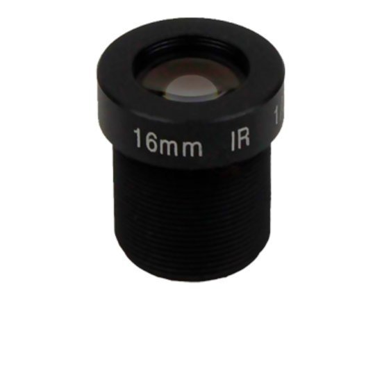 LM12-5MP-16MM-F2.0-2-ND1, LENS M12 5MP 16MM F2.0 1/2