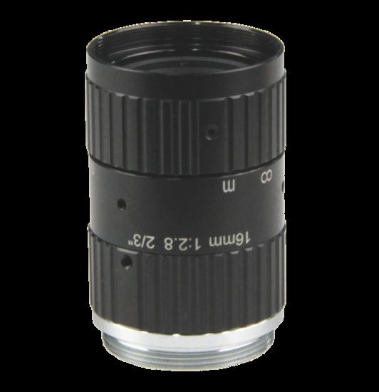 LCM-10MP-16MM-F2.8-1.5-ND1, LENS C-mount 10MP 16MM F2.8 2/3