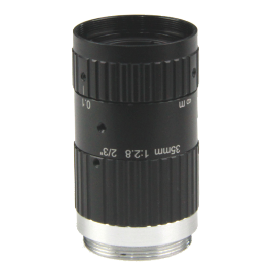 LCM-10MP-35MM-F2.8-1.5-ND1, LENS C-mount 10MP 35MM F2.8 2/3