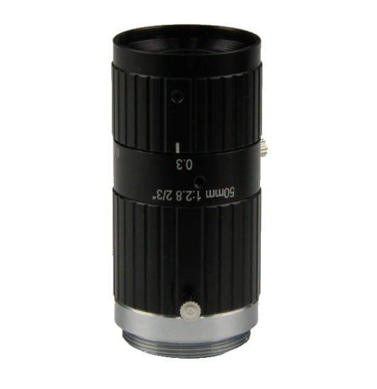 LCM-10MP-50MM-F2.8-1.5-ND1, LENS C-mount 10MP 50MM F2.8 2/3