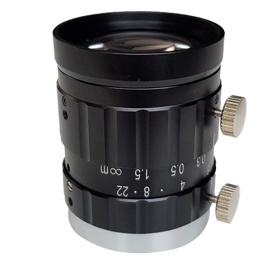 LCM-20MP-35MM-F2.8-1.1-ND1, LENS C-mount 20MP 35MM F2.8 1.1