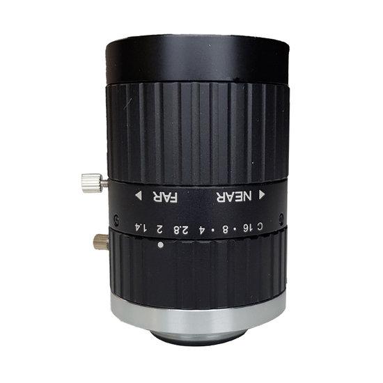 LCM-5MP-50MM-F1.4-1.5-ND1, LENS C-mount 5MP 50MM F1.4 2/3
