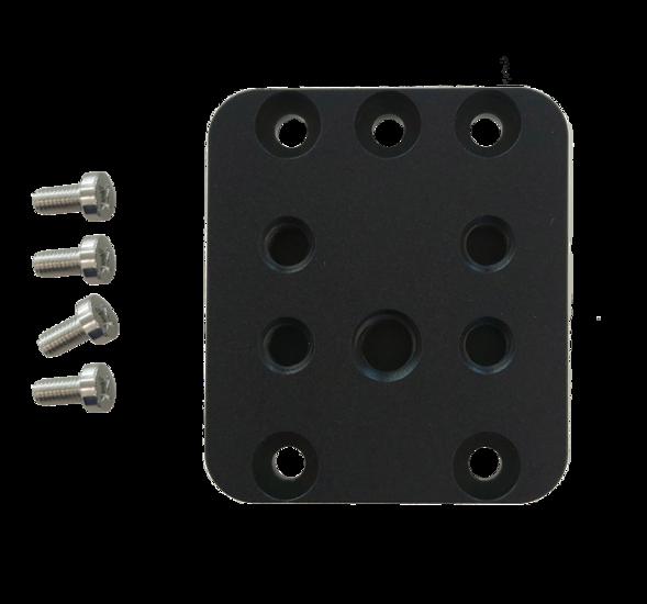 Tripod Mounting Plate ME2P USB3