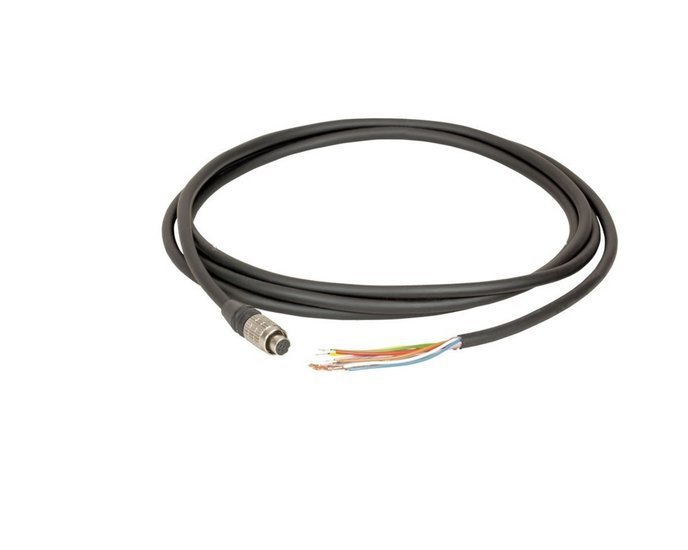 I/O cable 3M hirose 8-pin - open end - MER Cameras, Industrial grade