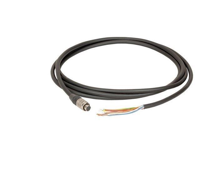 I/O cable 5M hirose 8-pin - open end - MER Cameras, Industrial grade