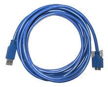 3-meter USB3.0 cable HighFlex, Screw lock, Industrial grade, Highflex