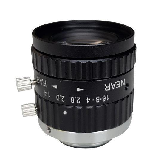 LCM-5MP-16MM-F1.4-1.5-ND1, LENS C-mount 5MP 16MM F1.4 2/3
