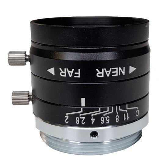 LCM-5MP-25MM-F2.0-1.8-ND1, LENS C-mount 5MP 25MM F2.0 1/1.8
