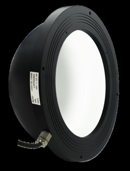 Dome light, 100mm, white, 24V / 20W, LED1-DL-150W