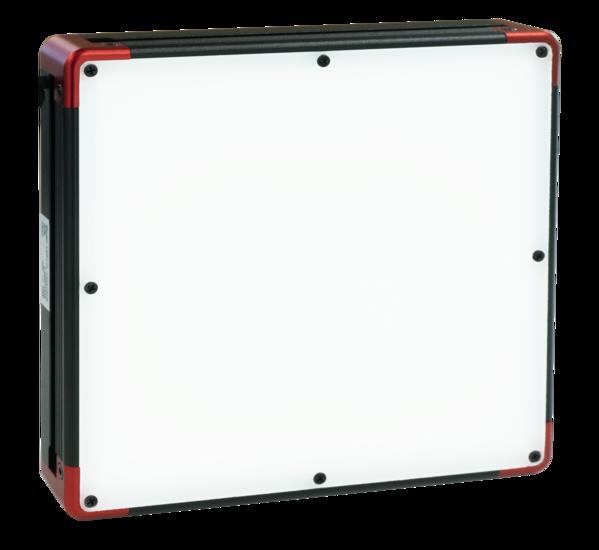 Bottom lit backlight, 100mm, white, 24V / 9.5W, LED1-FL-100x100W