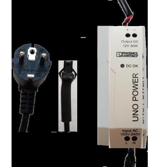 Powersupply-set 12V, 30W/12V, 1.5M power cable, 3M light cable