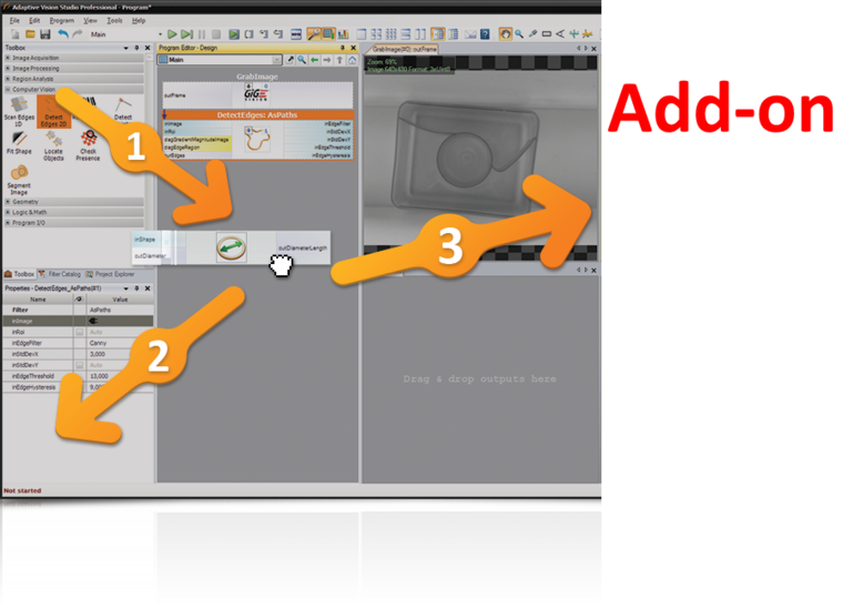 Adaptive Vision Studio 5 Parallel Add on
