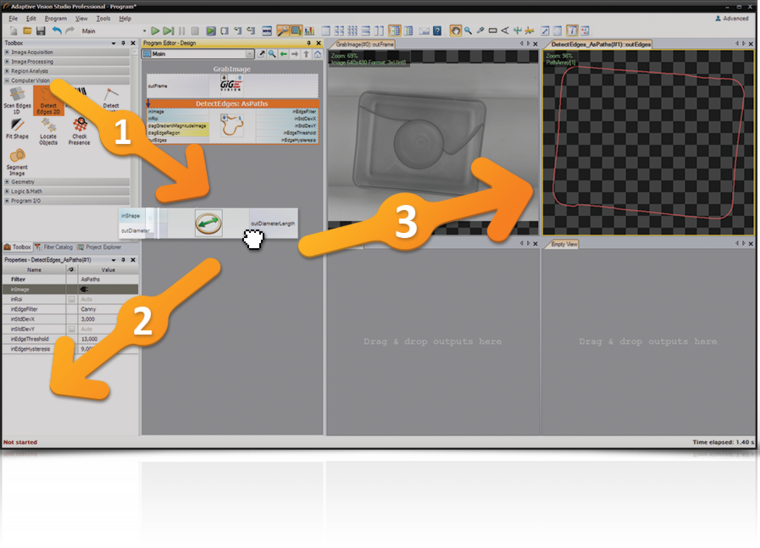 Adaptive Vision Studio 5 Runtime - single-threaded