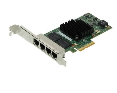 Adapter PCIe4x - 4x GigE - quad bus