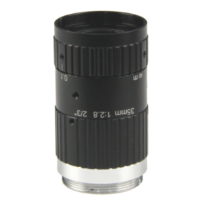 """LCM-10MP-35MM-F2.8-1.5-ND1, LENS C-mount 10MP 35MM F2.8 2/3"""" NON DISTORTION"""