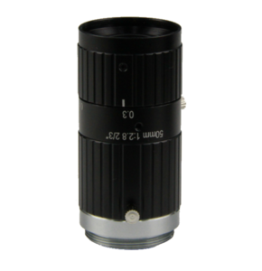 """LCM-10MP-50MM-F2.8-1.5-ND1, LENS C-mount 10MP 50MM F2.8 2/3"""" NON DISTORTION"""