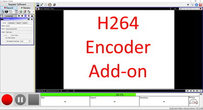 H.264 encoder recording software