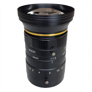 "LCM-12MP-16MM-F1.3-1.3-ND1, LENS C-mount 12MP 16MM F1.3 4/3"" NON DISTORTION"