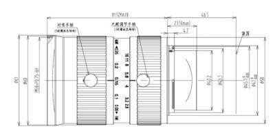 Mechanical Drawing LFM-29MP-35MM-F2.8-45-ND1