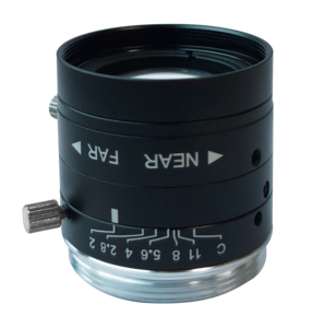 """LCM-5MP-06MM-F2.0-1.8-ND1, LENS C-mount 5MP 6MM F2.0 1/1.8"""" NON DISTORTION"""