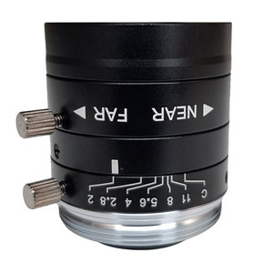 """LCM-5MP-08MM-F2.0-1.8-ND1, LENS C-mount 5MP 08MM F2.0 1/1.8"""" NON DISTORTION"""