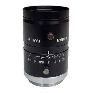 """LCM-5MP-50MM-F2.8-1.8-ND1, LENS C-mount 5MP 50MM F2.8 1/1.8"""" NON DISTORTION"""