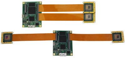 "VEN-134-90U3C-D, Dual Head, 1280x1024, 90fps, 1/2"", Global shutter, CMOS, Color"