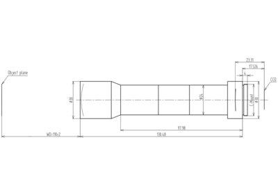 LCM-TELECENTRIC-2X-WD110-1.5-NI