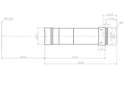 LCM-TELECENTRIC-3X-WD65-1.5-NI